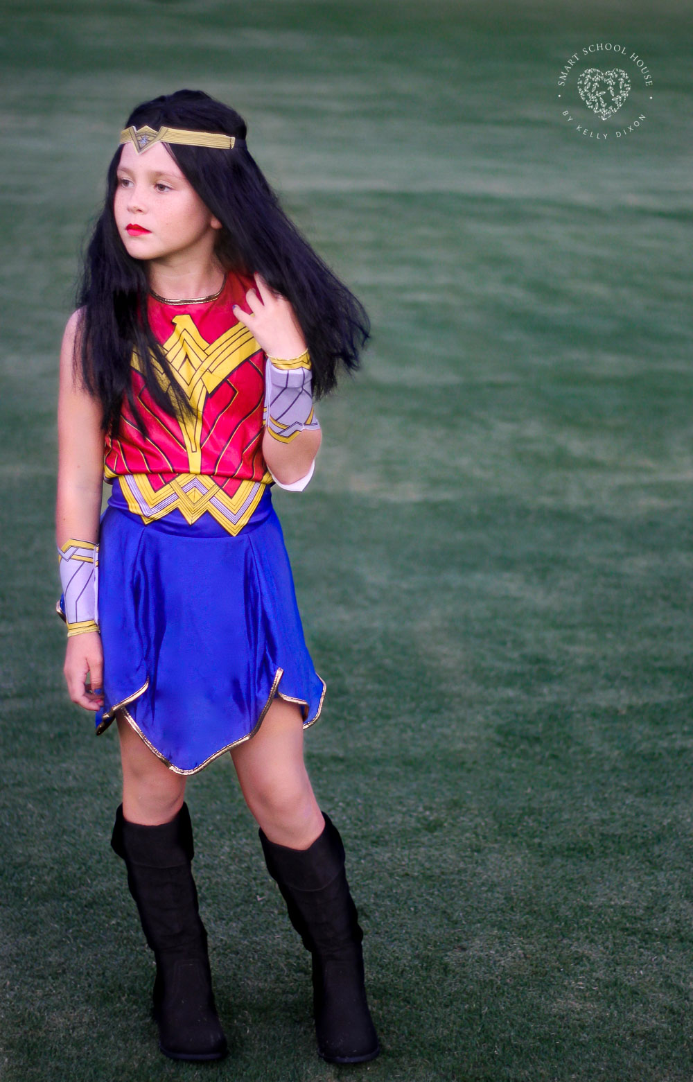 Wonder Woman costume for girls. I LOVE THIS!