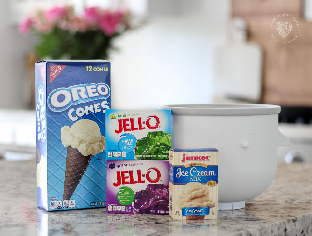 How to Make Jello Ice Cream. No ice cream maker? No problem! You can make it without one too:)