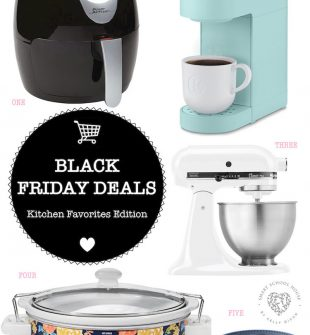 Black Friday Deals Kitchen Edition - These items are great for families, chefs, college students, and so on. Know someone who loves to be in the kitchen, consider some of these items that have deep discounts just for them (or just for YOU, we don't judge!).