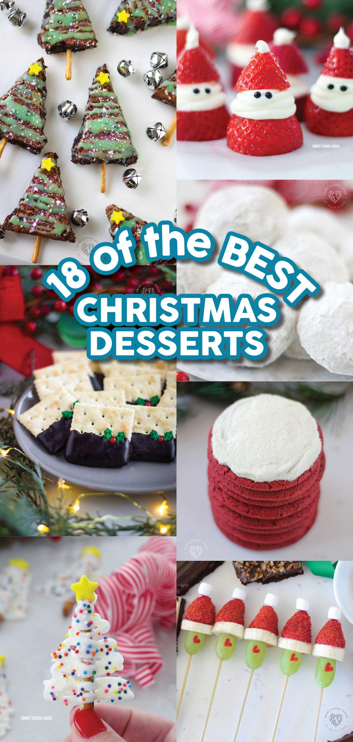 I've gathered the best Christmas Dessert Recipes to share with you today! Let's fa la la la la our way in love with holiday desserts! 'Tis the season to eat up, am I right?