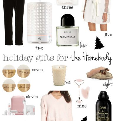 Christmas Gifts for the Homebody - Christmas Gift Guide #ChristmasGiftIdeas