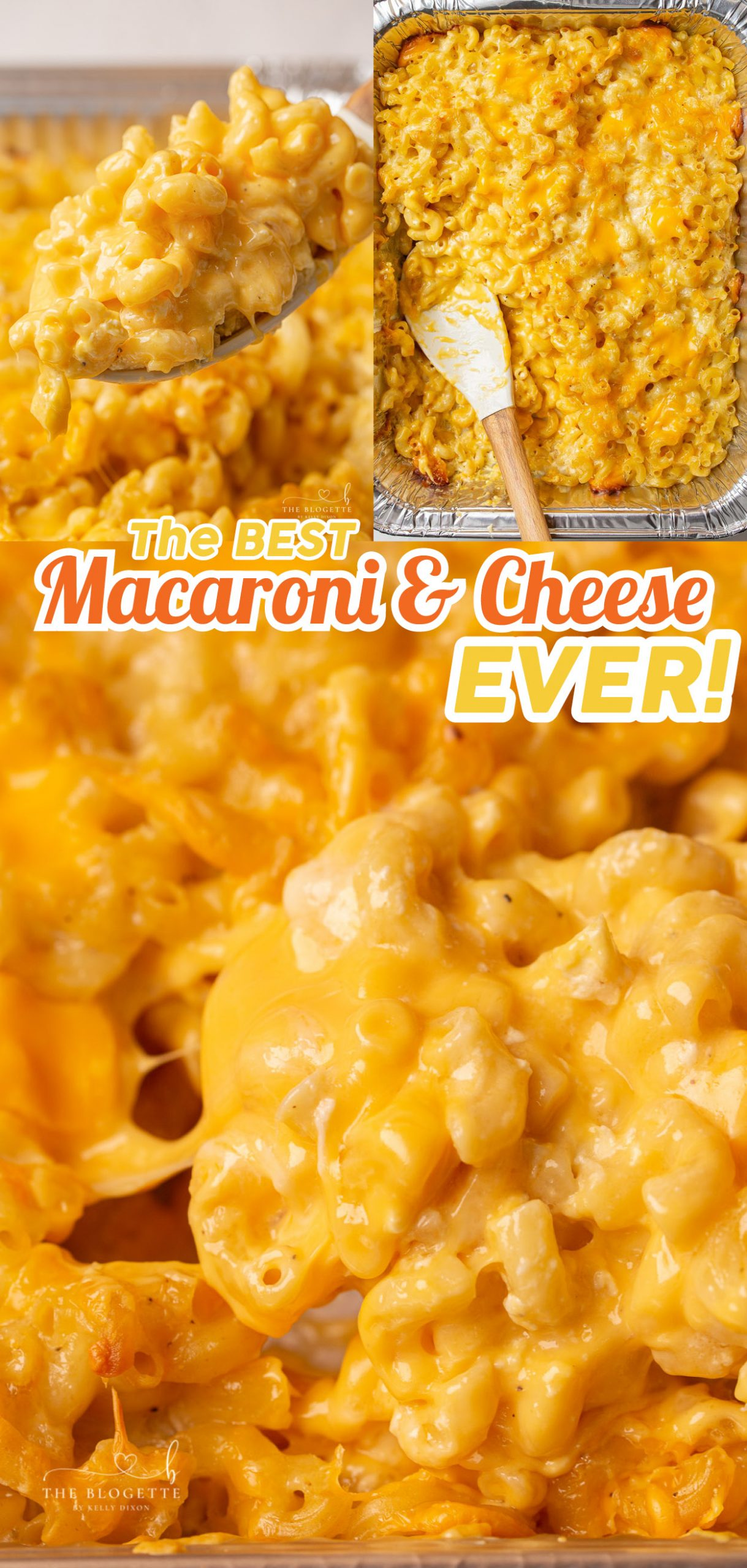 Absolutely perfect Baked Macaroni and Cheese recipe. Easy, delicious holiday or weeknight side dish that's the perfect amount of creamy.