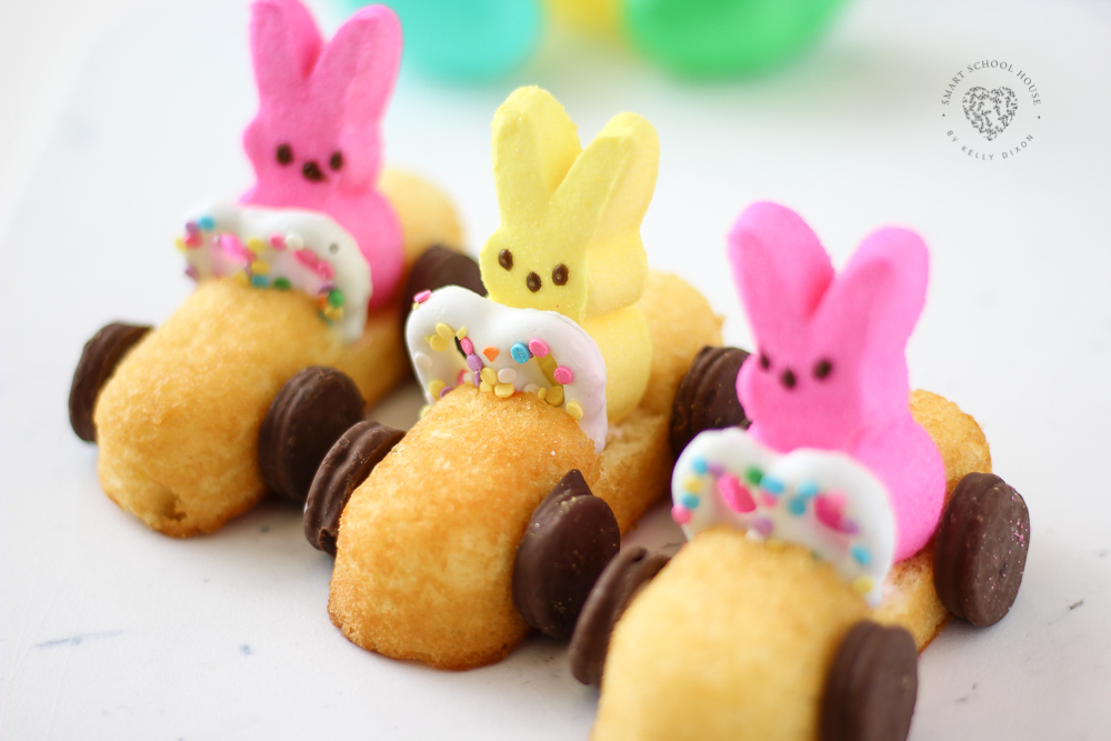 How to Make Peeps Race Cars for Easter! #Peeps #EasterCrafts