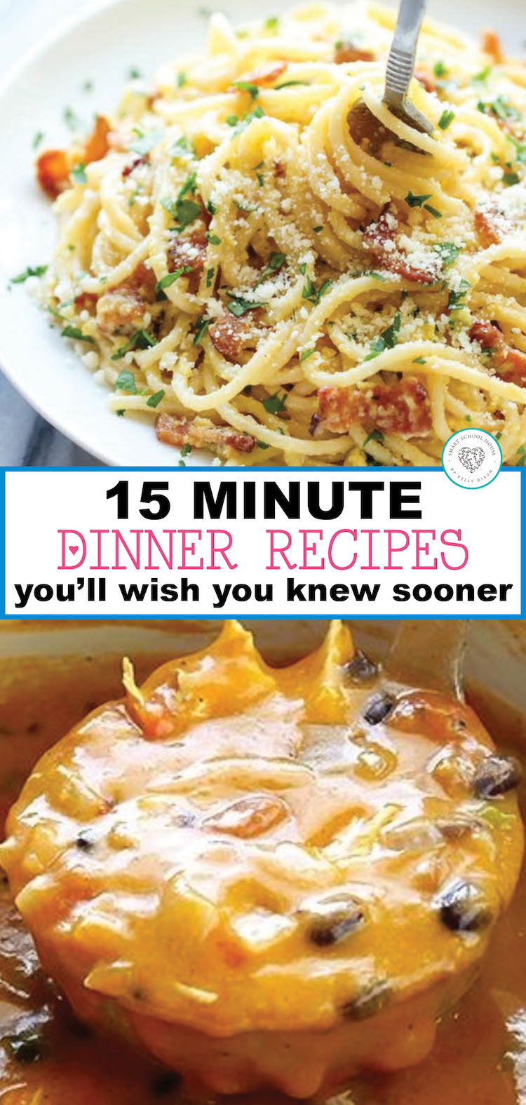 15 Minute Dinner Recipes You'll Wish You Knew Sooner