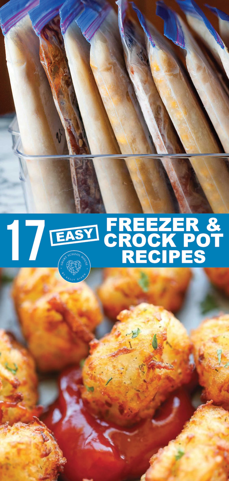 Easy Freezer and Crock Pot Recipes