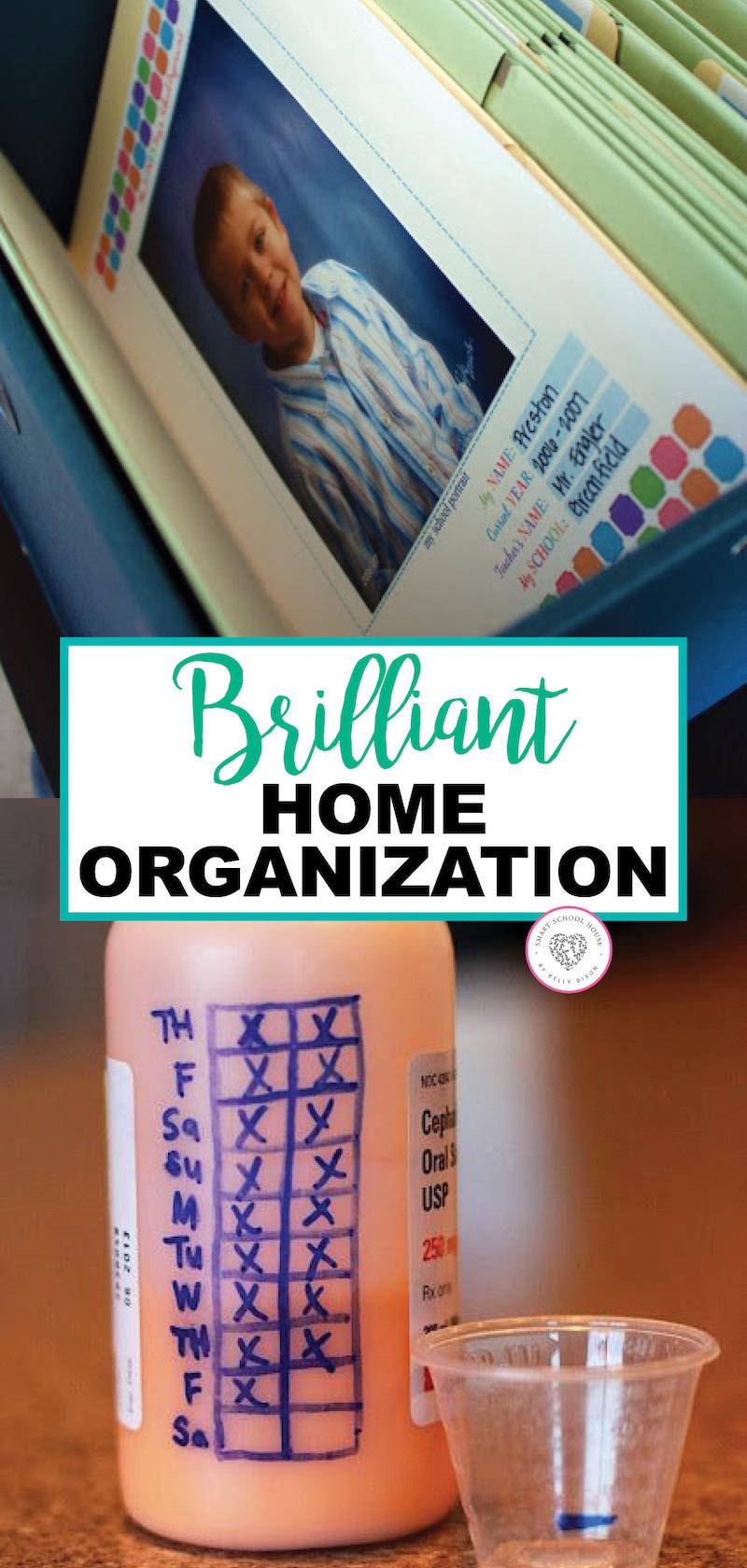 Brilliant Home Organization Ideas