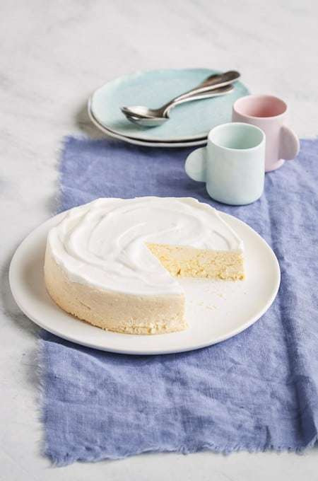 Instant Pot Keto Ricotta Lemon Cheesecake is a delicious low carb cheesecake with lemon zest for a little zing. Cook this in your pressure cooker to get a smooth and creamy cheesecake. Perfect for the summer when you don't want to turn on your oven