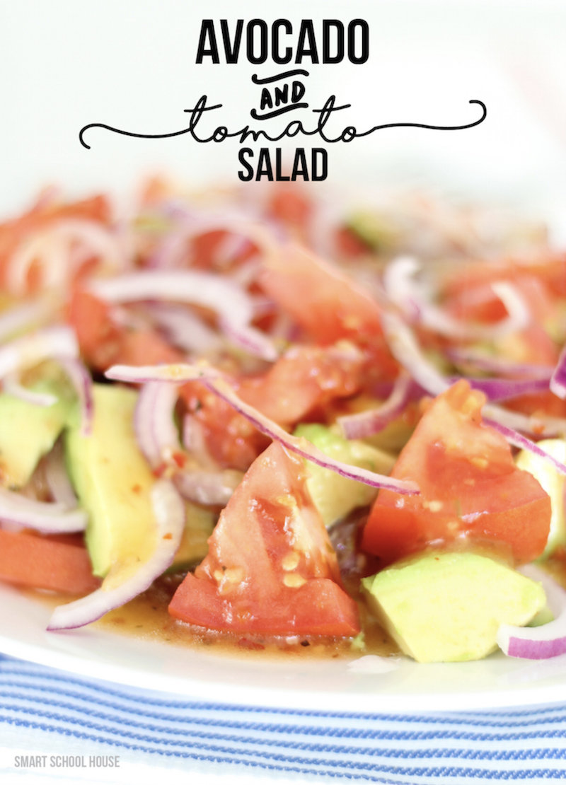 Avocado and Tomato Salad - 20 SUMMER SALADS!