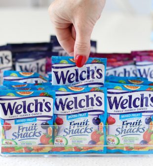 Organize Fruit Snacks in Clear Containers for Easy Grab-and-Go Snacking
