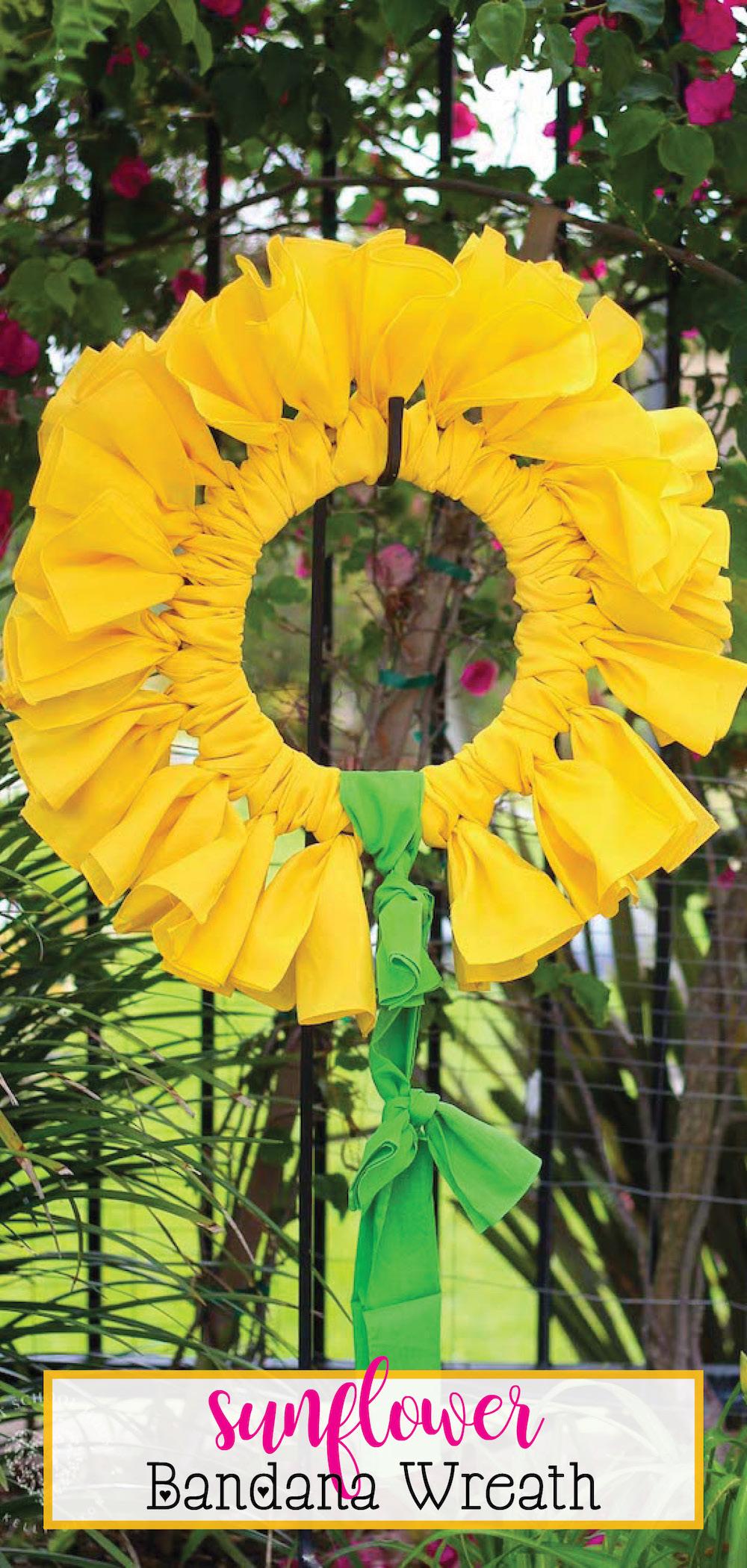 Wreath Hat Roblox The Original Sunflower Bandana Wreath Bandana Wreath Directions