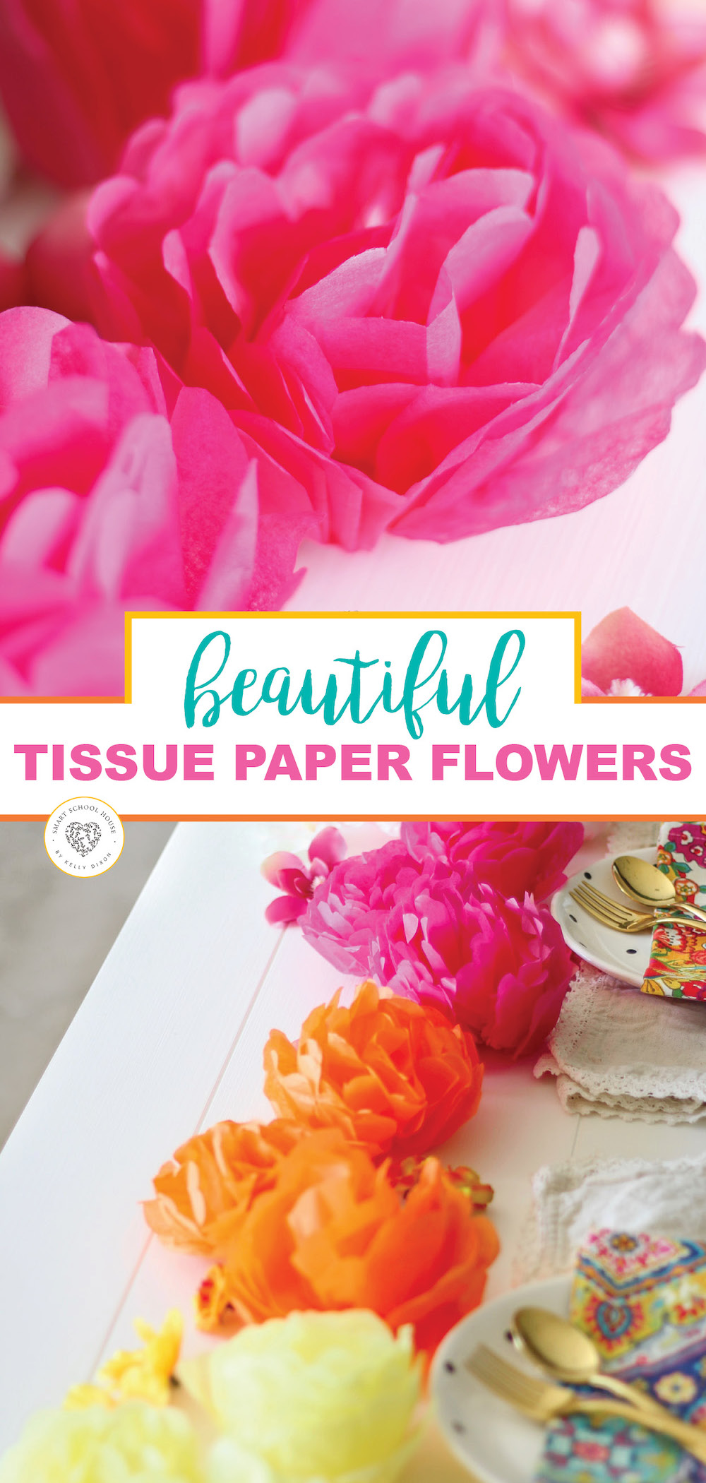 Simple Steps To Making Diy Tissue Paper Flowers For Any Occasion