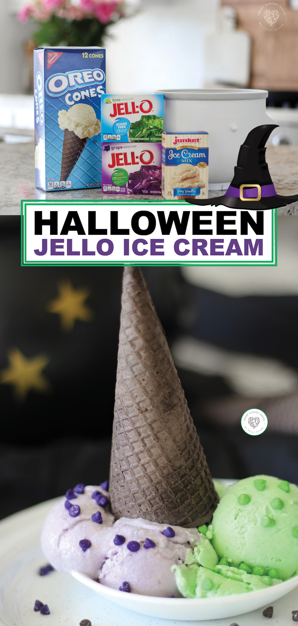 Halloween Jello Ice Cream