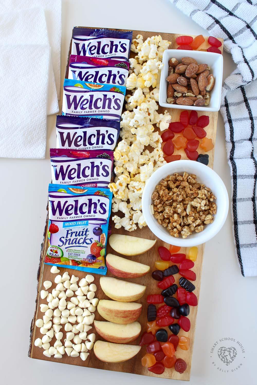 After School Fruit Snacks Board