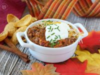Crock Pot Pumpkin Spice Chili