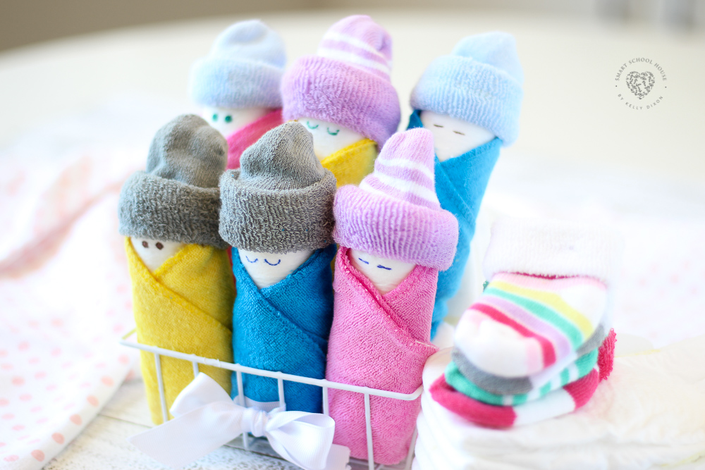 The EASIEST Way to Make Diaper Babies Using a Washcloth