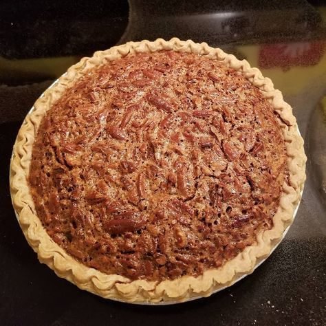 Utterly Deadly Southern Pecan Pie Recipe - The secret to this rich pie is cooking the sugar and corn syrup first. It is definitely not diet food! I bake this pie for 45 minutes according to my oven but you may need to bake longer.