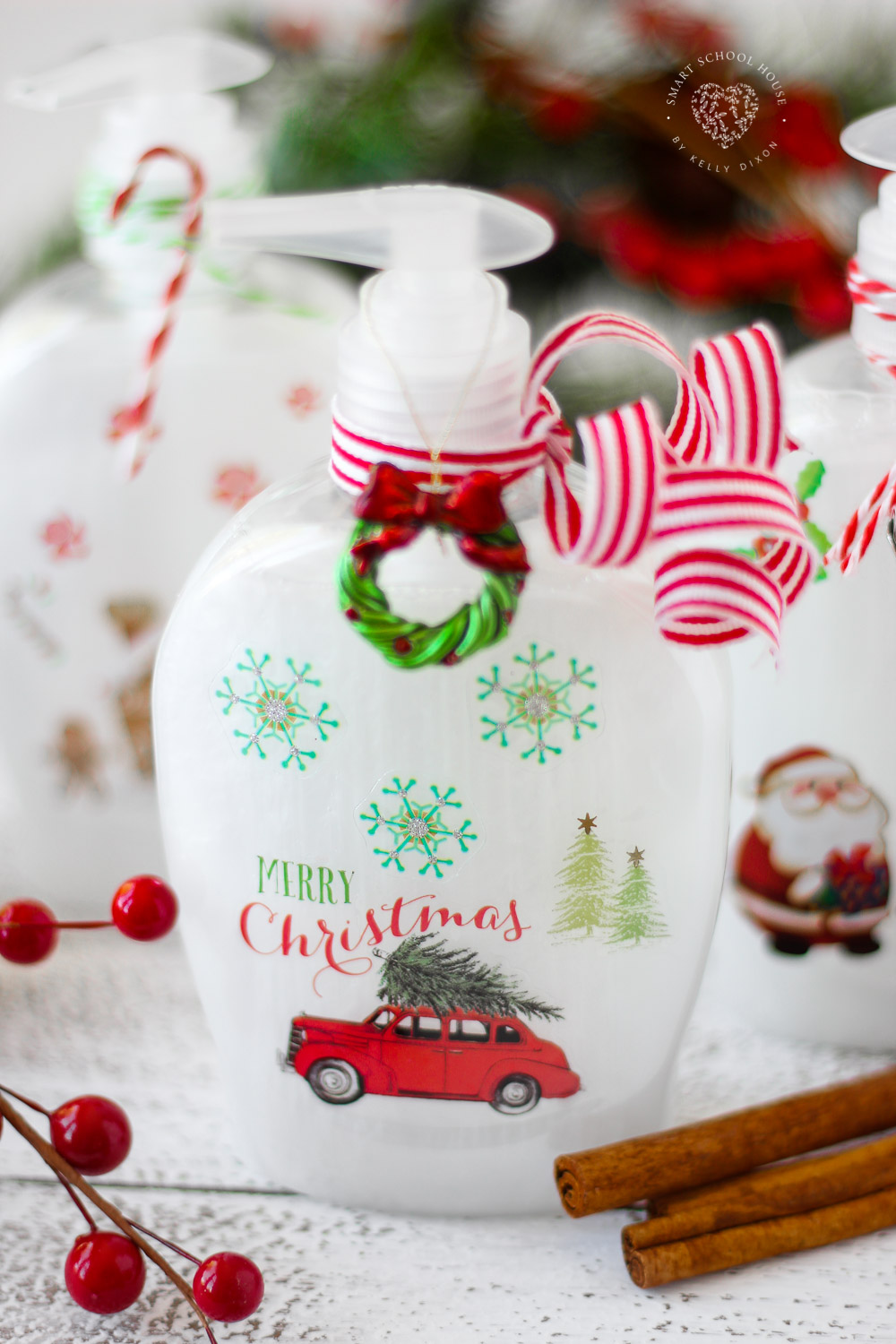 Christmas Soap Bottles The Perfect Diy Christmas Gift Idea