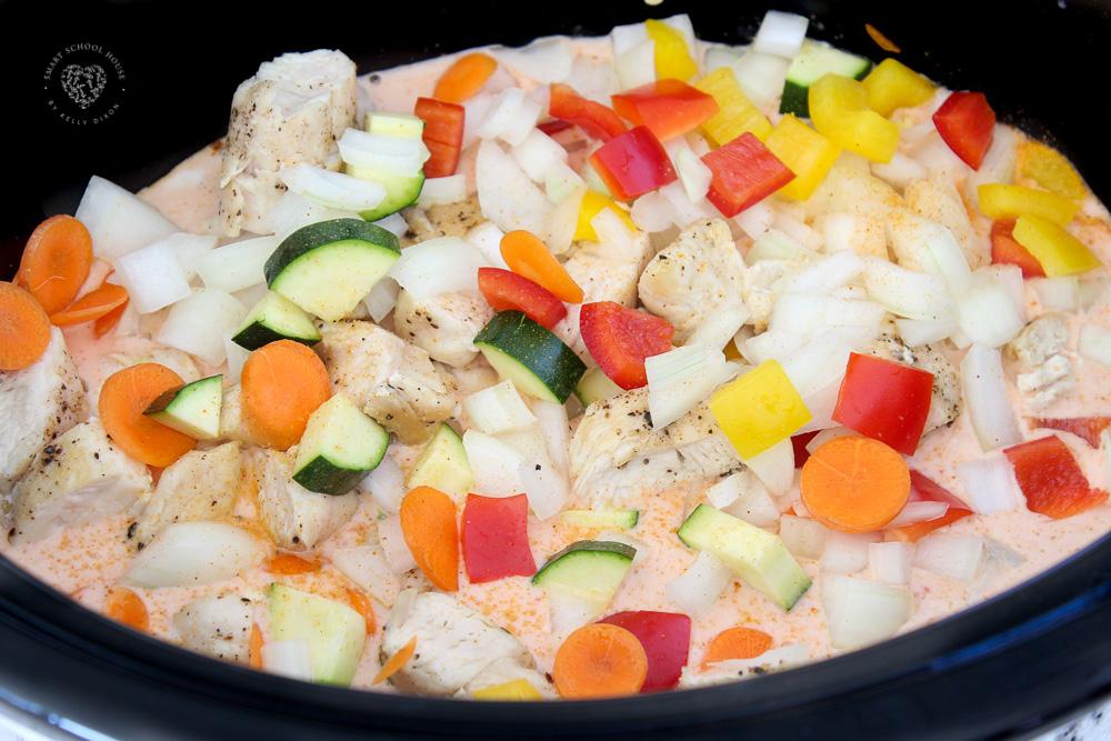 Healthy Crock Pot Curry Soup