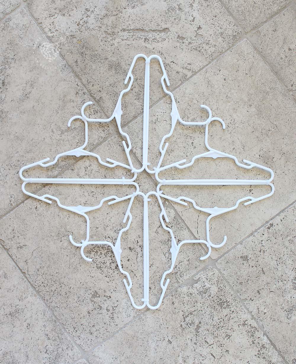 Hanger Snowflake Directions