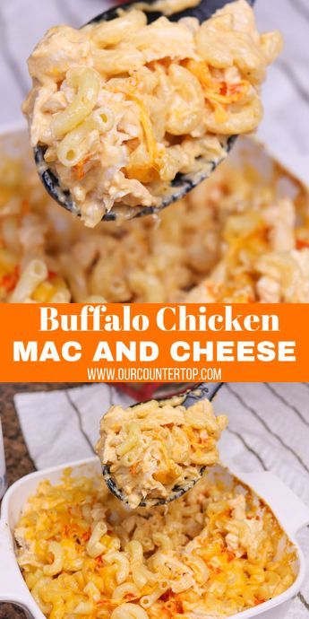 Buffalo Chicken Macaroni and Cheese - This recipe is perfect for busy weeknights when you need a dish that will satisfy the entire family. It's quick, delicious, and has a great kick.