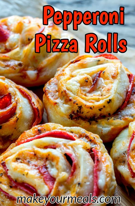 A pizza inspired snack or appetizer that is easy to eat and is a fantastic addition to any party! 2 tubes of refrigerated pizza crust.