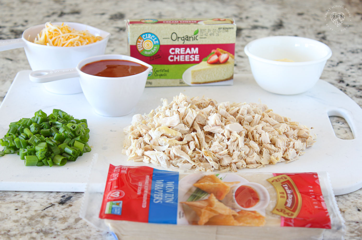 Buffalo Chicken Wontons Recipe Ingredients
