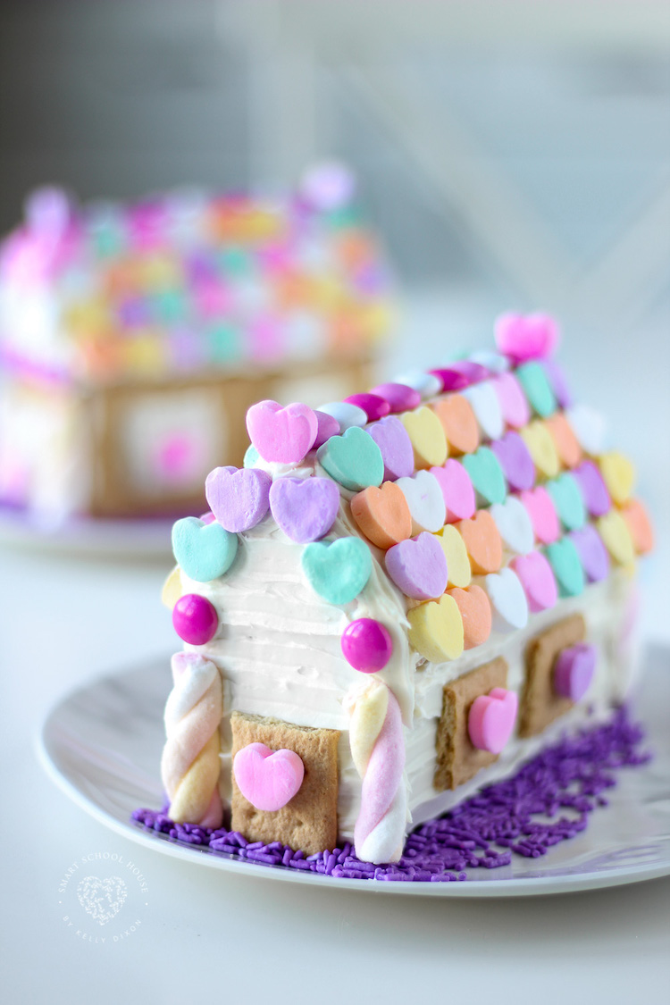 Valentines Gingerbread House