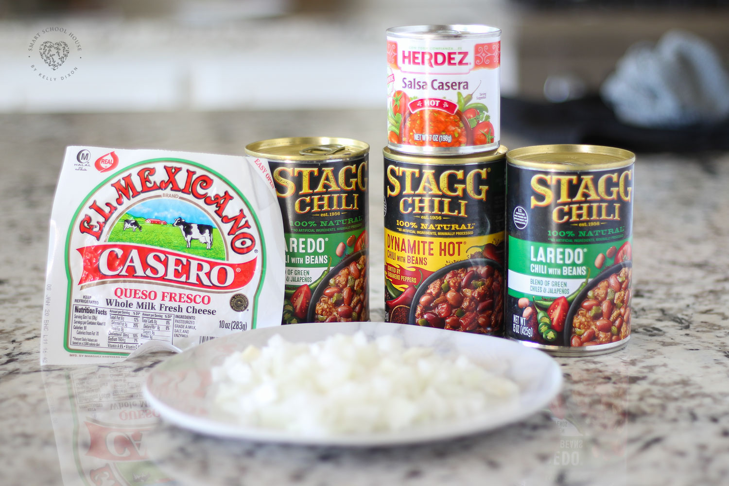 Ingredients for crock pot chili