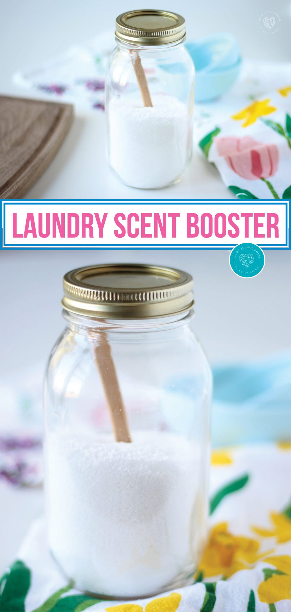 3 Ing Diy Laundry Scent Booster