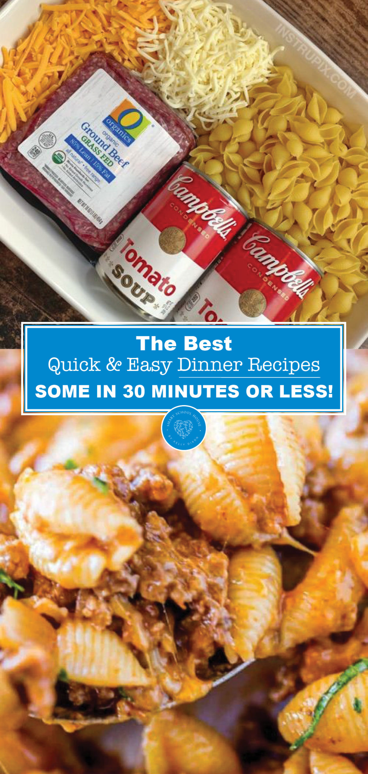 The Best Quick, Easy Dinner Recipes You Can Make... Some in 30 Minutes or Less! These meals are perfect for busy weeknights.