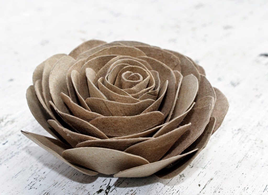 Toilet Paper Roll Rose