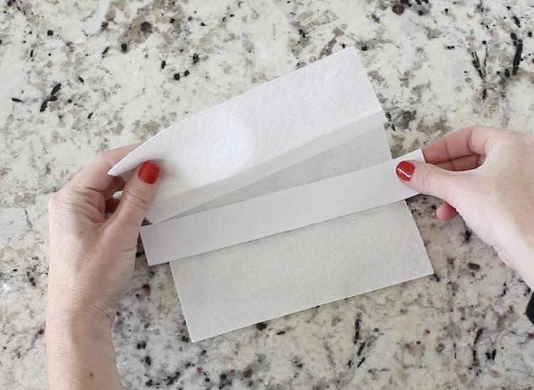 Paper Towel Face Mask
