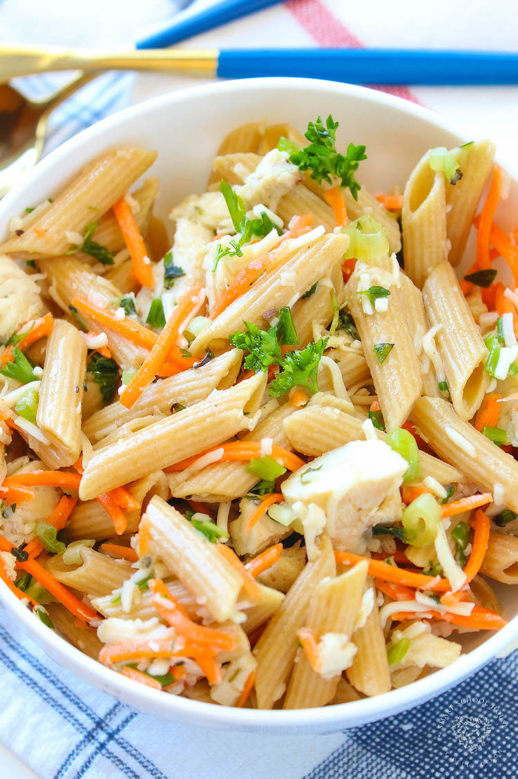Is there a more quintessential warm-weather side dish than pasta salad? There are a lot of pasta salads out there and here's the one pasta salad recipe you need right now.