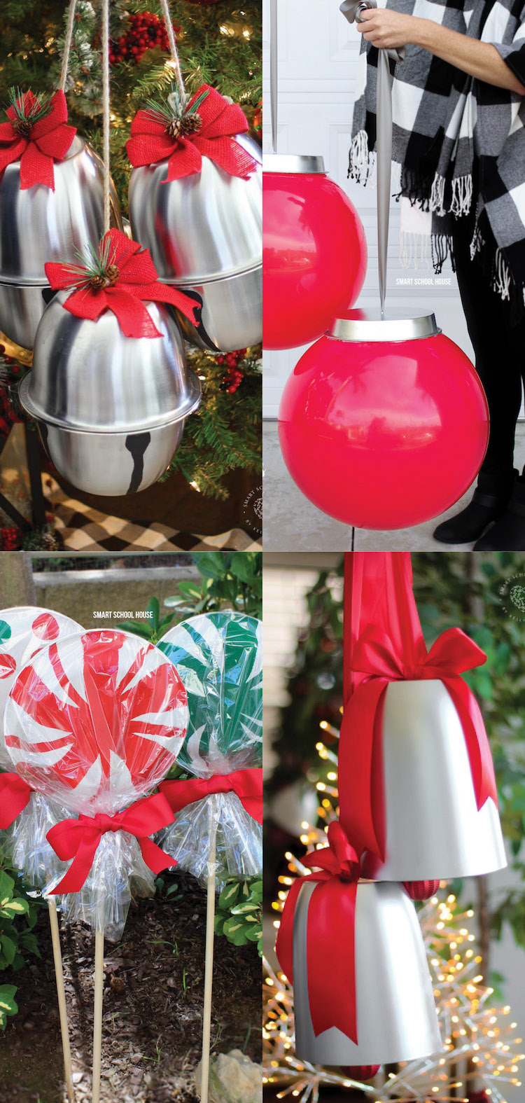 How to Make Giant Christmas Decorations for your home, classroom, or workplace!
