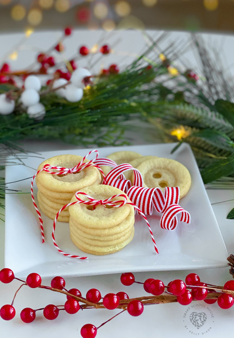 Sugar Cookie Buttons
