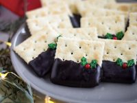 Cracker with Chocolate