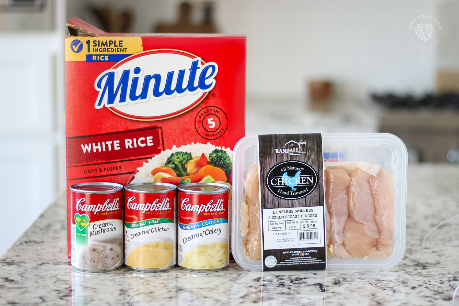 This simpleChicken and Rice Casserole only takes a few ingredients and your oven does most of the work:) It's a wonderful tried and true recipe that's big on taste and comfort and so easy to make. If you need, like, or prefer easy recipes, seriously, this is THE BEST!!! 100% picky eater approved, too.