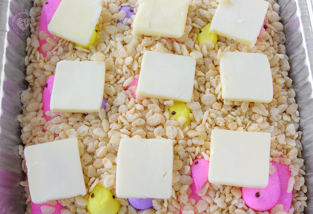 Peeps Rice Krispies Treats