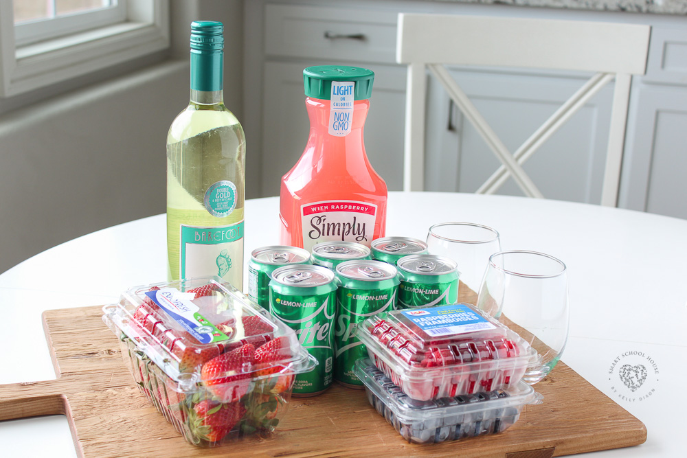Moscato Punch Ingredients