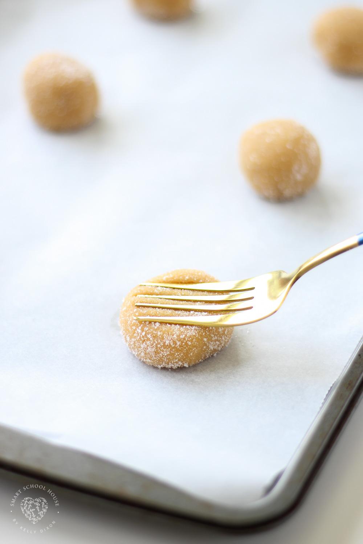 Peanut Butter Cookie Dough in Sugar