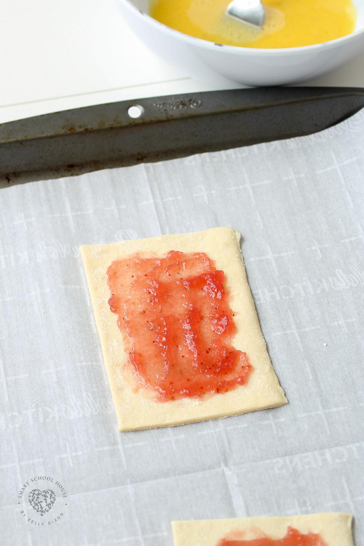 Strawberry Pastry Recipe