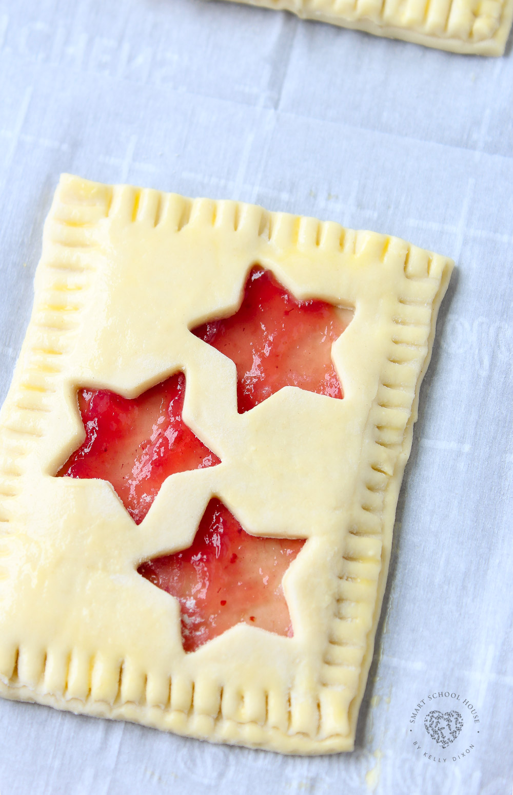Puff Pastry with Stars