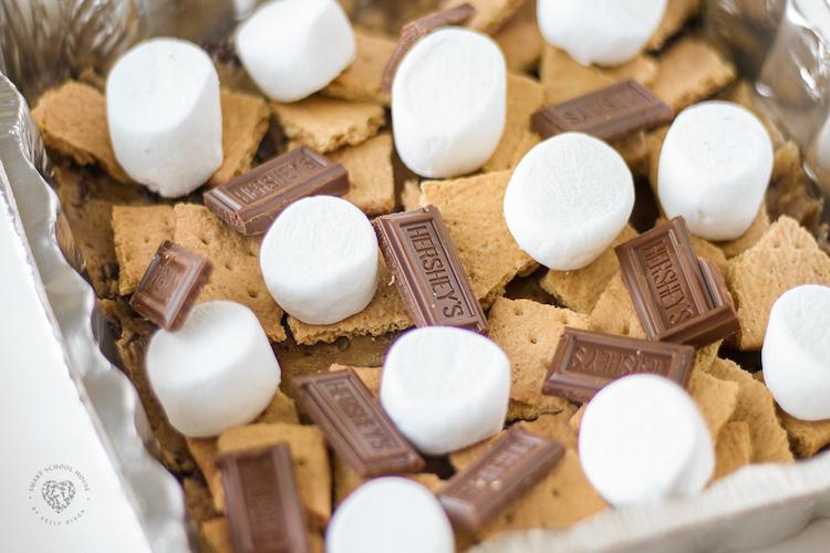 Receitas de Barras de Biscoitos S'mores