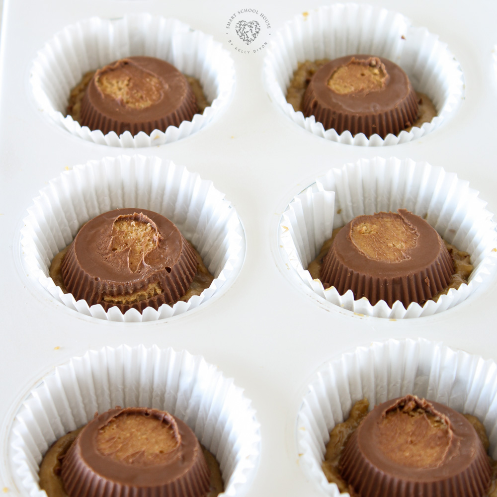 How to Make Cupcakes with Brownies, Cookies, and Peanut Butter Cups