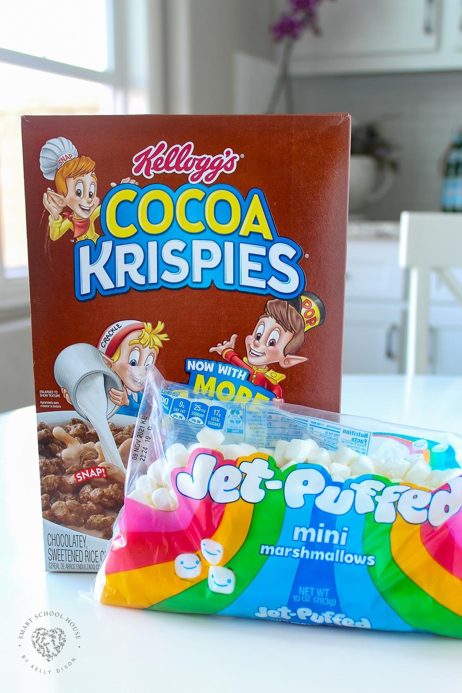 Cocoa Krispies Treats Ingredients