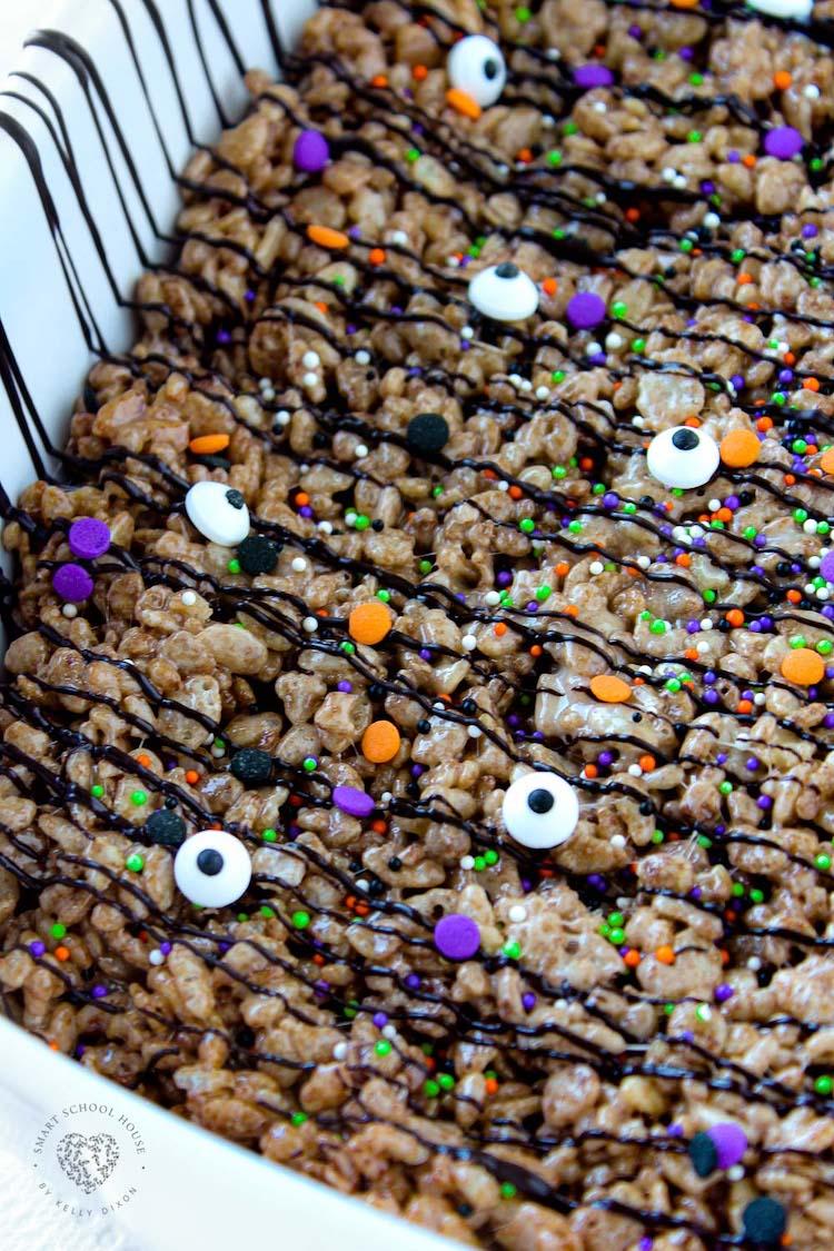 Cocoa Rice Krispies Treats for Halloween