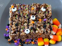 Halloween Cocoa Krispies Treats